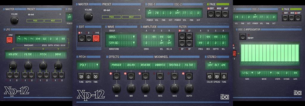 OB Legacy | XP-12 GUI
