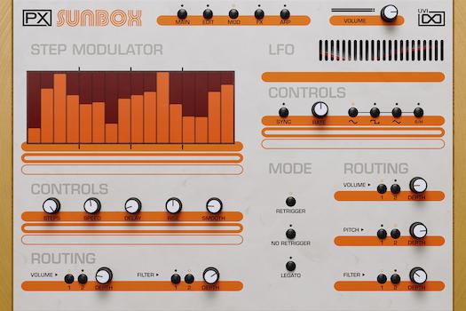 UVI PX SunBox | Modulator GUI