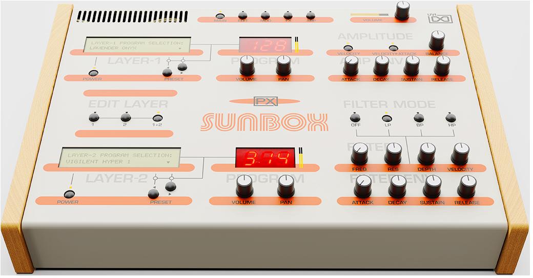 UVI PX SunBox | Instrument