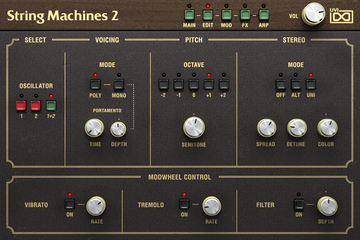 String Machines 2 | Edit GUI