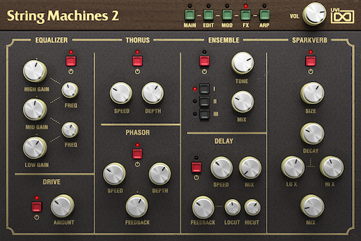 String Machines 2 | FX GUI