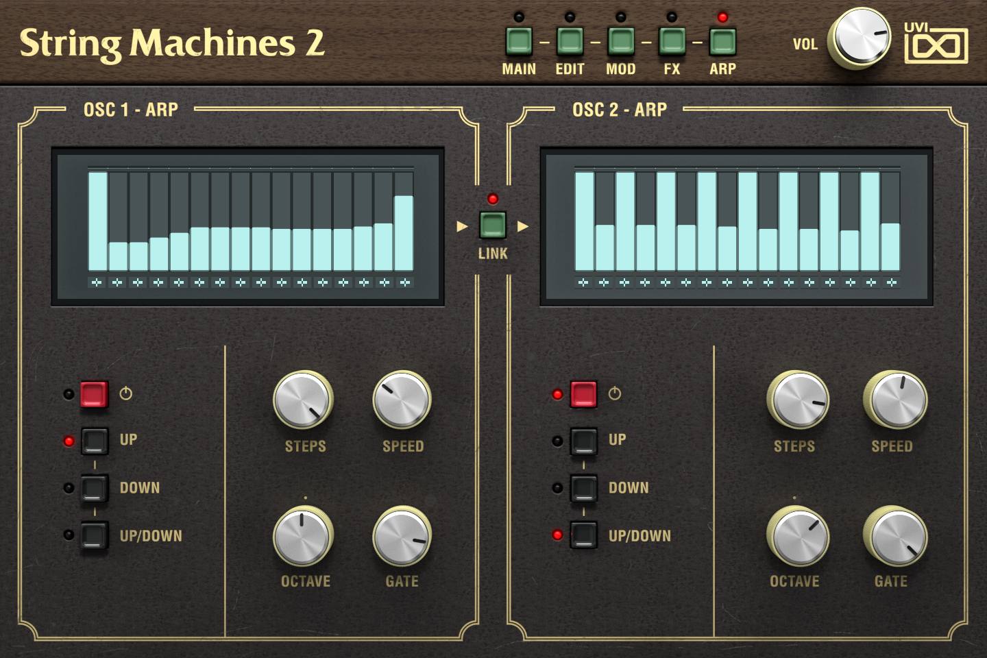 String Machines 2 | Arp GUI