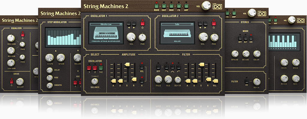 UVI String Machines 2 | GUIS