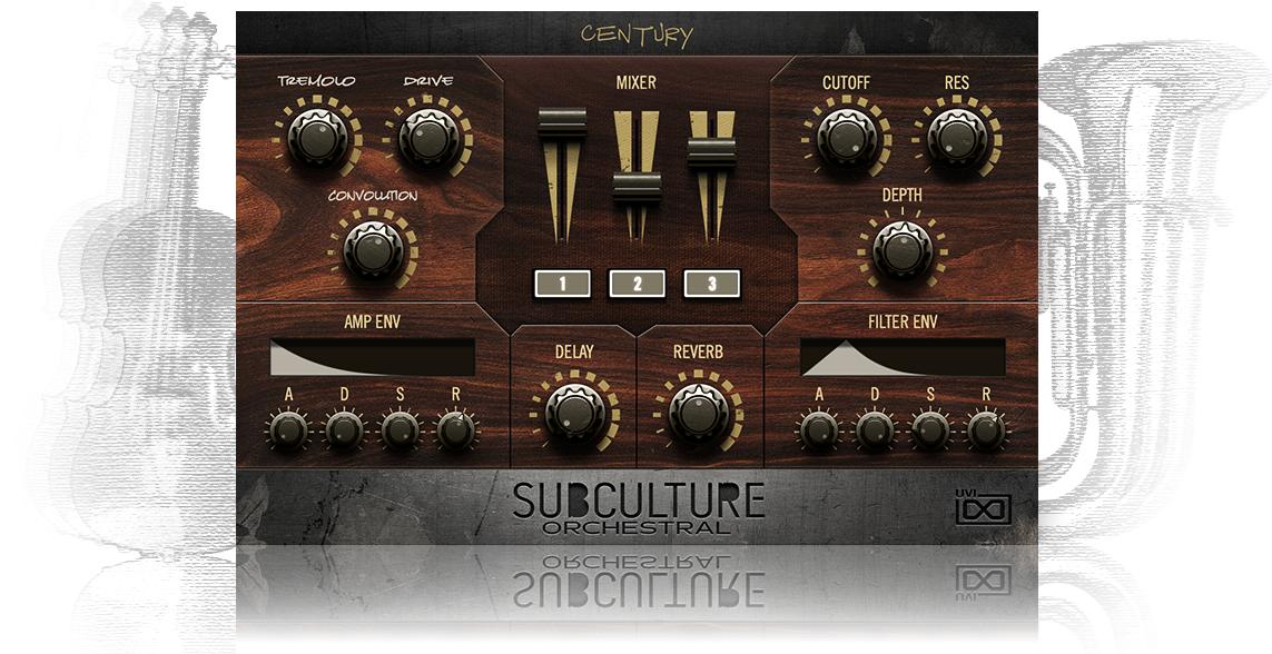 UVI SubCulture Orchestral | GUI
