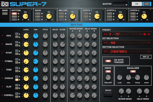 Super-7 | GUI Rhythm