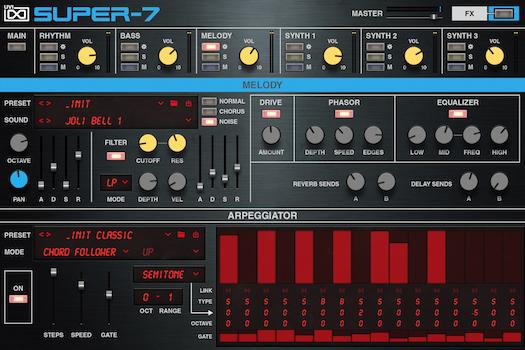 Super-7 | GUI Melody