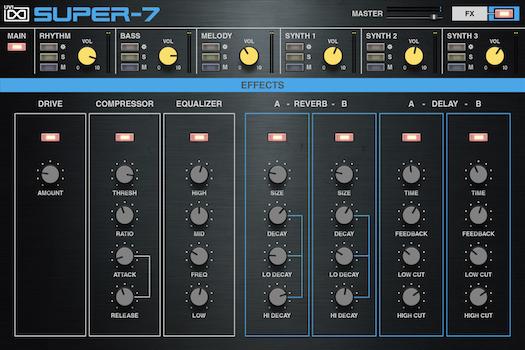 Super-7 | GUI Effects
