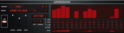 UVI Super-7 | Arpeggiator