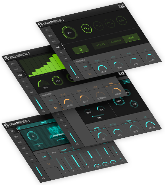 UVI Synth Anthology 3 | UI