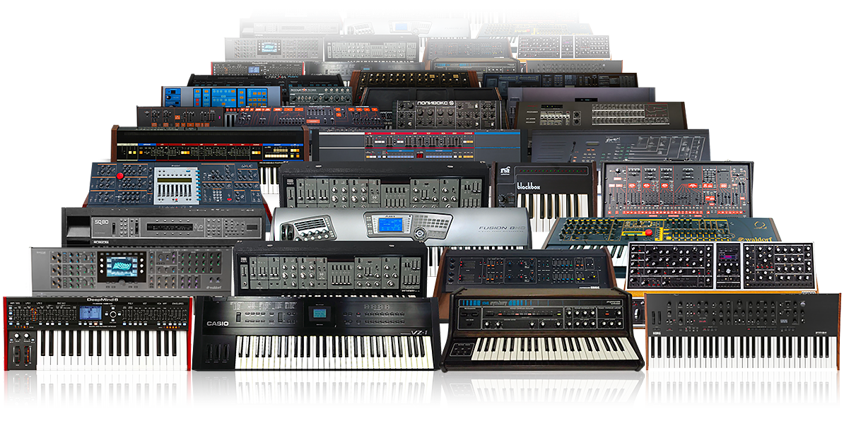UVI Synth Anthology 3 | Machines