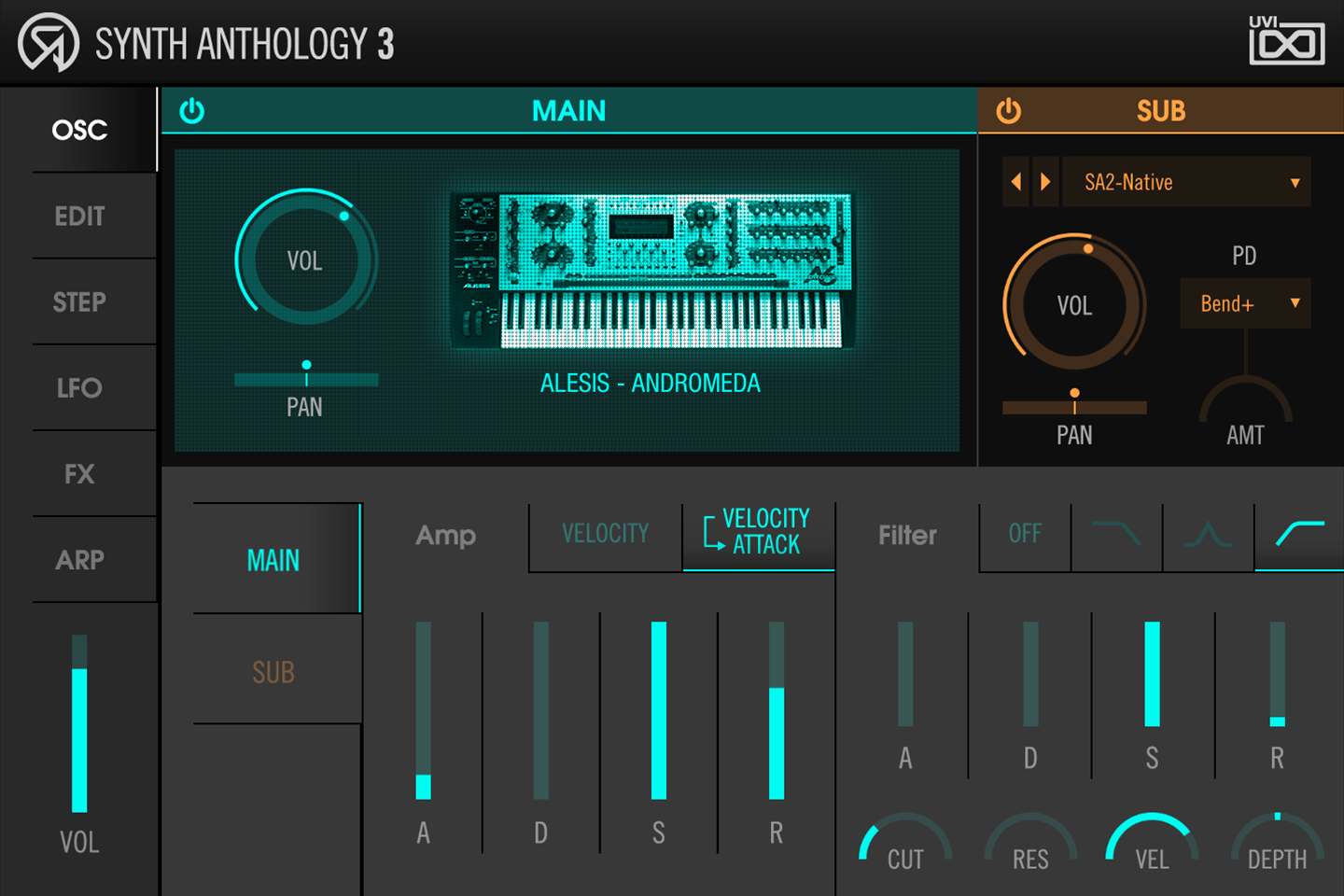 Synth Anthology 3 | Osc Page