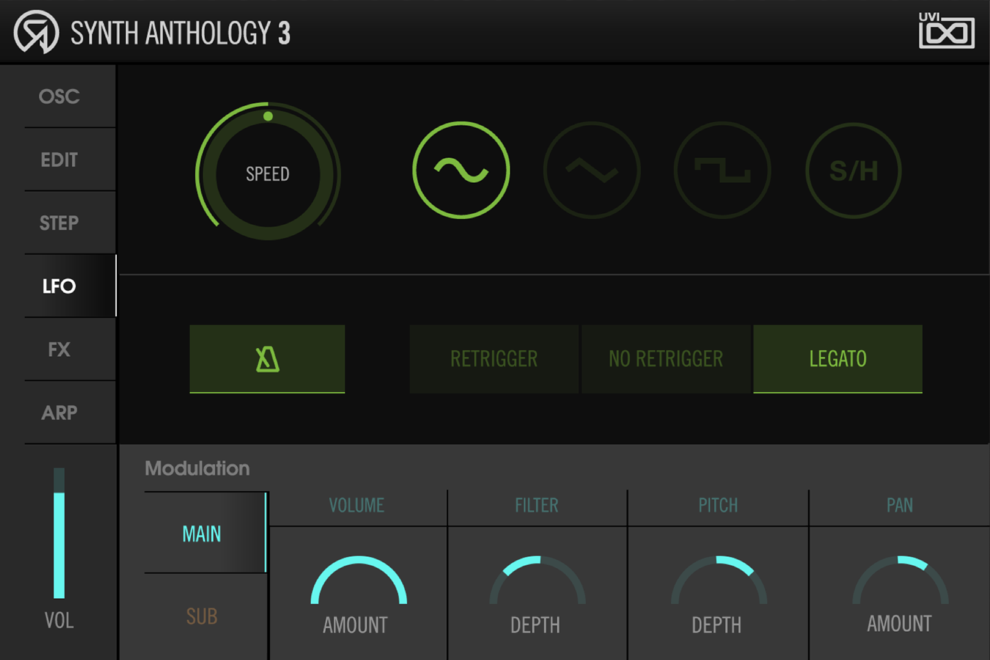 UVI Synth Anthology 3 | LFO Page
