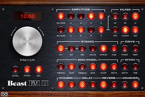 UVI The Beast - FM II |GUI