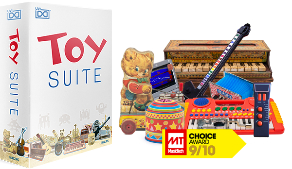 UVI Toy Suite - The ultimate musical toy collection