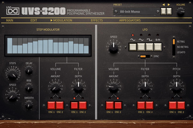 UVI UVS-3200 | Mod UI