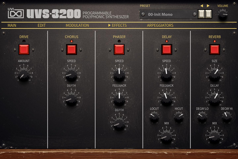 UVI UVS-3200 | FX UI