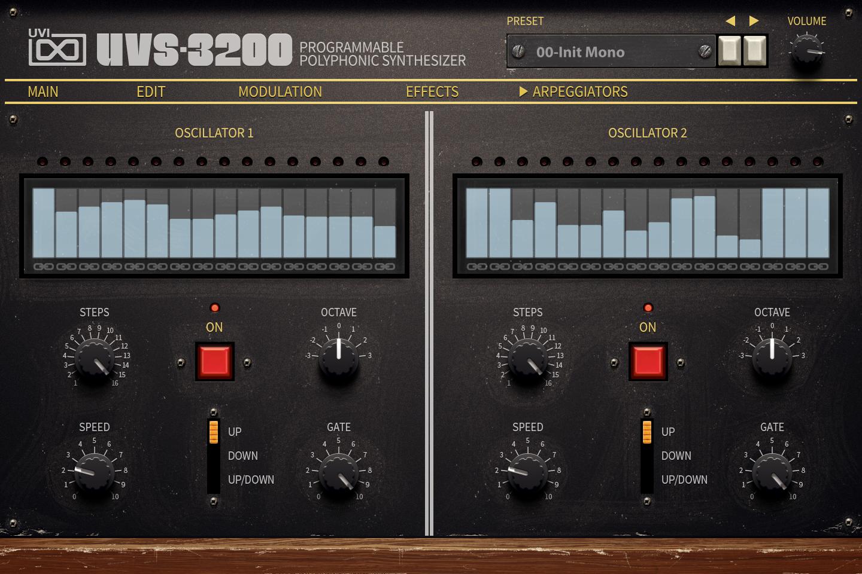 UVI UVS-3200 | UI Arps