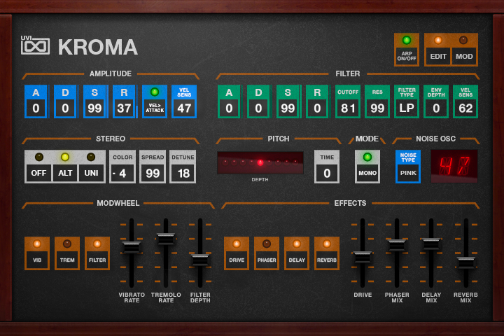 Kroma - Edit GUI