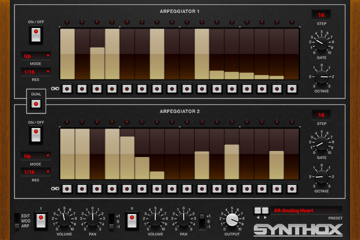 Synthox - ARP GUI