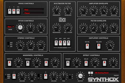 Synthox - Edit GUI