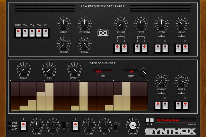 Synthox- MOD GUI