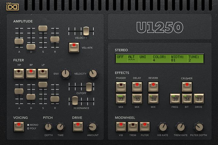 U1250- Edit GUI