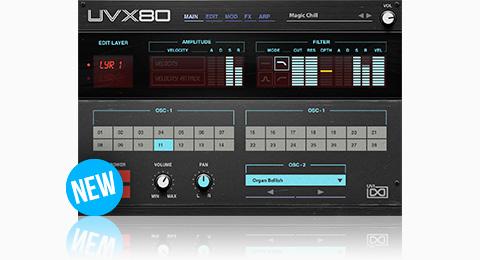 UVI UVX80 | GUI