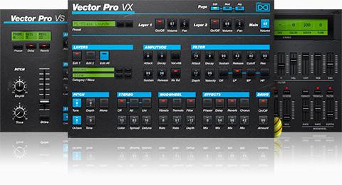 UVI Vector Pro | GUI