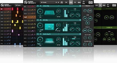 UVI BeatBox Anthology 2 | GUI