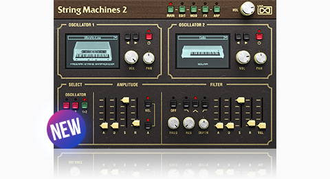 UVI String Machines 2 | GUI