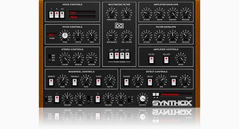 UVI Synthox | GUI