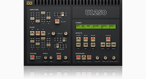 UVI U1250 | GUI
