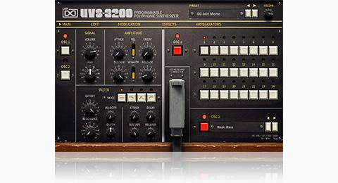 UVI UVS-3200 | GUI