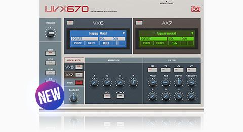 UVI UVX670 | GUI