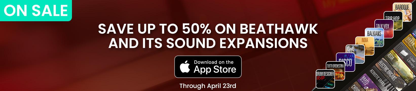 UVI BeatHawk   On sale