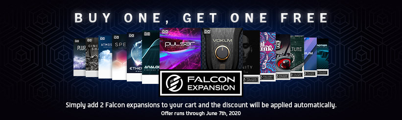 UVI Falcon Expansions   On sale