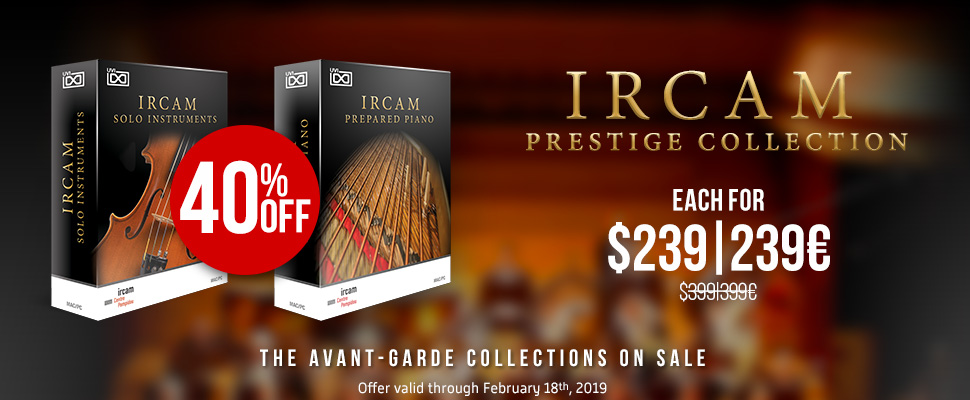 IRCAM Collections on Sale