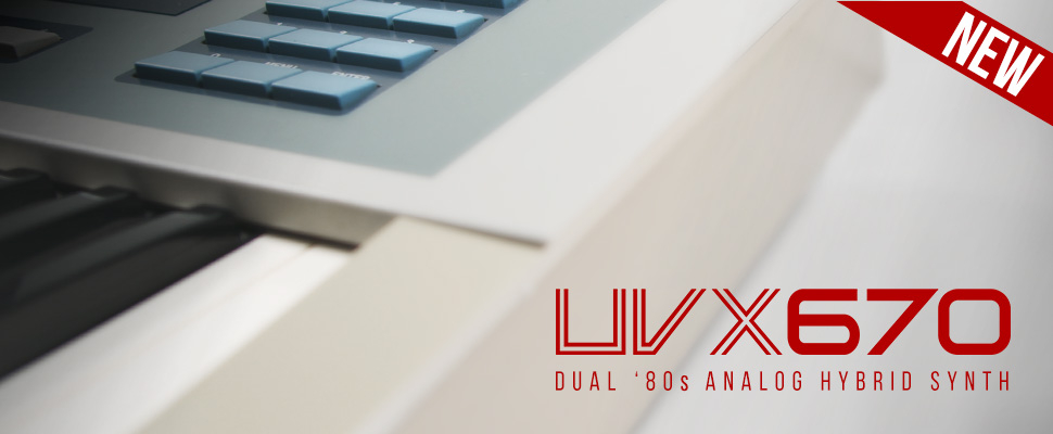 UVI UVX670 - Dual '80s Analog Hybrid Synth