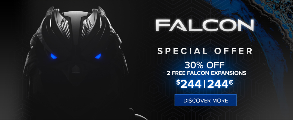 Falcon 2 - 30% off + 2 free expansions